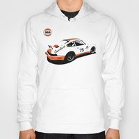 porsche Hoodies featuring Porsche 964 by Carrture