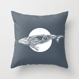 Saturn's Sea Throw Pillow
