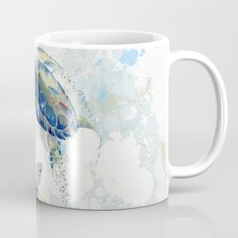 Swimming Together 2 - Sea Turtle  Coffee Mug