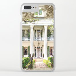 Sturdivant Hall, Selma Alabama Clear iPhone Case