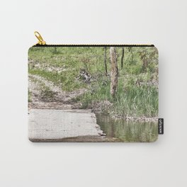 Rustic water crossing Carry-All Pouch