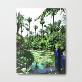 Jardin Majorelle Metal Print