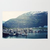 marina Area & Throw Rugs featuring Marina by Megan Burgess