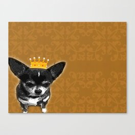 Chihuahua Queen Canvas Print