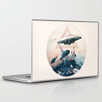 ufo Laptop & iPad Skins featuring UFO by Tanya_tk