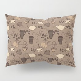 Caffeine Fix Pillow Sham