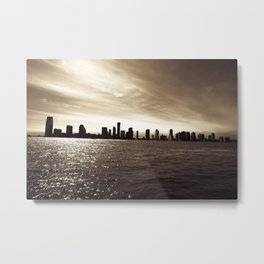 Looking out on Tribeca  Metal Print