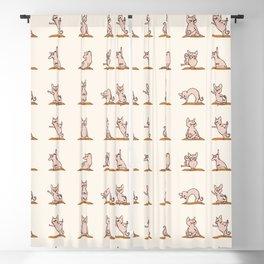 Sphynx Cat Yoga Blackout Curtain