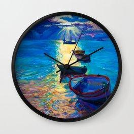 Moon River Moonlight Wall Clock