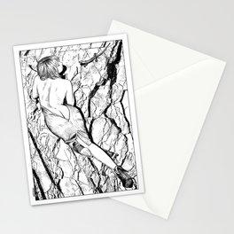 asc 347 - La fille mordue par un lézard (Girl bitten by a lizard)  Stationery Cards