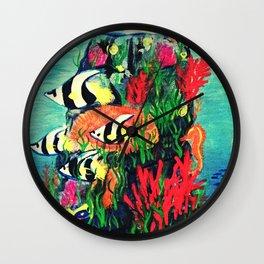 Under Da Sea Wall Clock