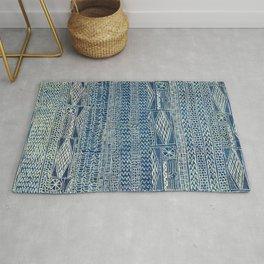 Ndop Cameroon West African Textile Print Rug
