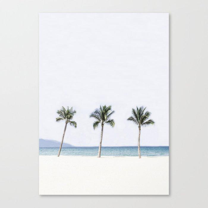 Palm trees 6 Leinwanddruck
