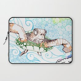 Scuba in Belize Color Laptop Sleeve
