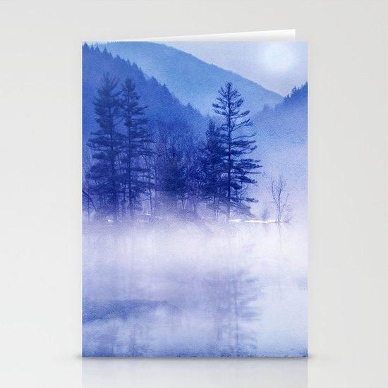 mystic sunrise II Stationery Cards