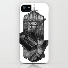 Turquoise Greenhouse iPhone Case