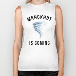 MANGKHUT IS COMING Biker Tank
