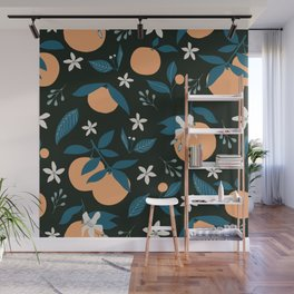 Orange You Glad- Dark Wall Mural