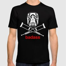 Badass - The Video Game SMALL Black Mens Fitted Tee