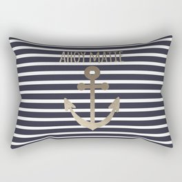 Ahoy Matie Rectangular Pillow