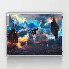 Avatar: The Last Airbender - Aang @ Avatar State - Fan Art Laptop & iPad Skin