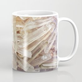 Sparkly Clear Magical Unicorn Crystal Shards Coffee Mug