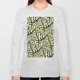 Feel - Bee - XTC Pattern Long Sleeve T-shirt