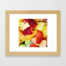 Tasty Fruit Framed Art Print