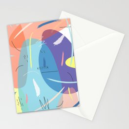 Stain 2 pattern design Stationery Cards