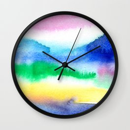 Summer Dreams Wall Clock
