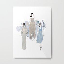 Fashionary 1 Metal Print