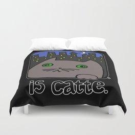 Is Catte Duvet Cover