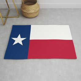 Texas: State Flag of Texas Rug