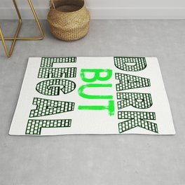 "Cute and simple brick tee design with text ""Dark and Legal"" makes a great gift for everyone!  Rug"