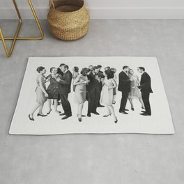 the cold war Rug