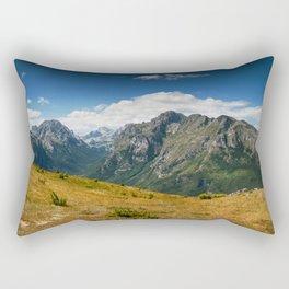 Climbing Vrh Bora Rectangular Pillow