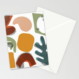 Playing Shapes Stationery Cards