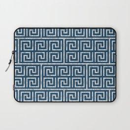 Oriental Symbol (Blue & Silver) Laptop Sleeve