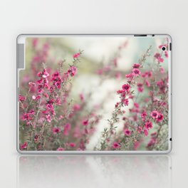 pink flowers  Laptop & iPad Skin
