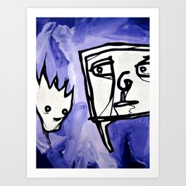 99 eyes Art Print