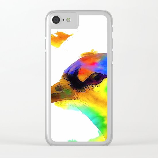Color VIII Clear iPhone Case