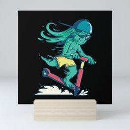Booger Scooter Mini Art Print