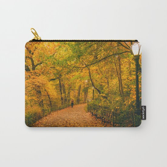 New York City Autumn Dusk in Central Park Carry-All Pouch