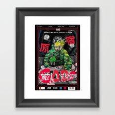 G.O.D.Z Framed Art Print