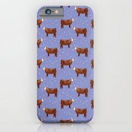 Simmental // Purple// Sprinkles iPhone Case
