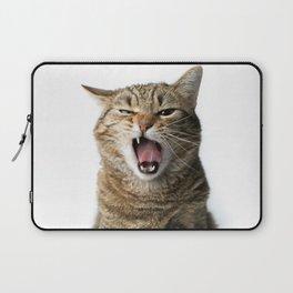 Crazy Cat Laptop Sleeve