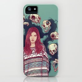 Fearless  Lady iPhone Case