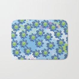 Blue Whimsy Bath Mat
