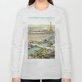 Paris World Fair 1900 Long Sleeve T-shirt