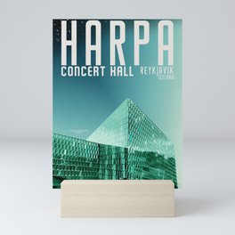 Iceland: Hapra Concert Hall Mini Art Print